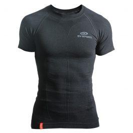 BV SPORT Skael Teknik T-shirt Kısa Kollu - Siyah